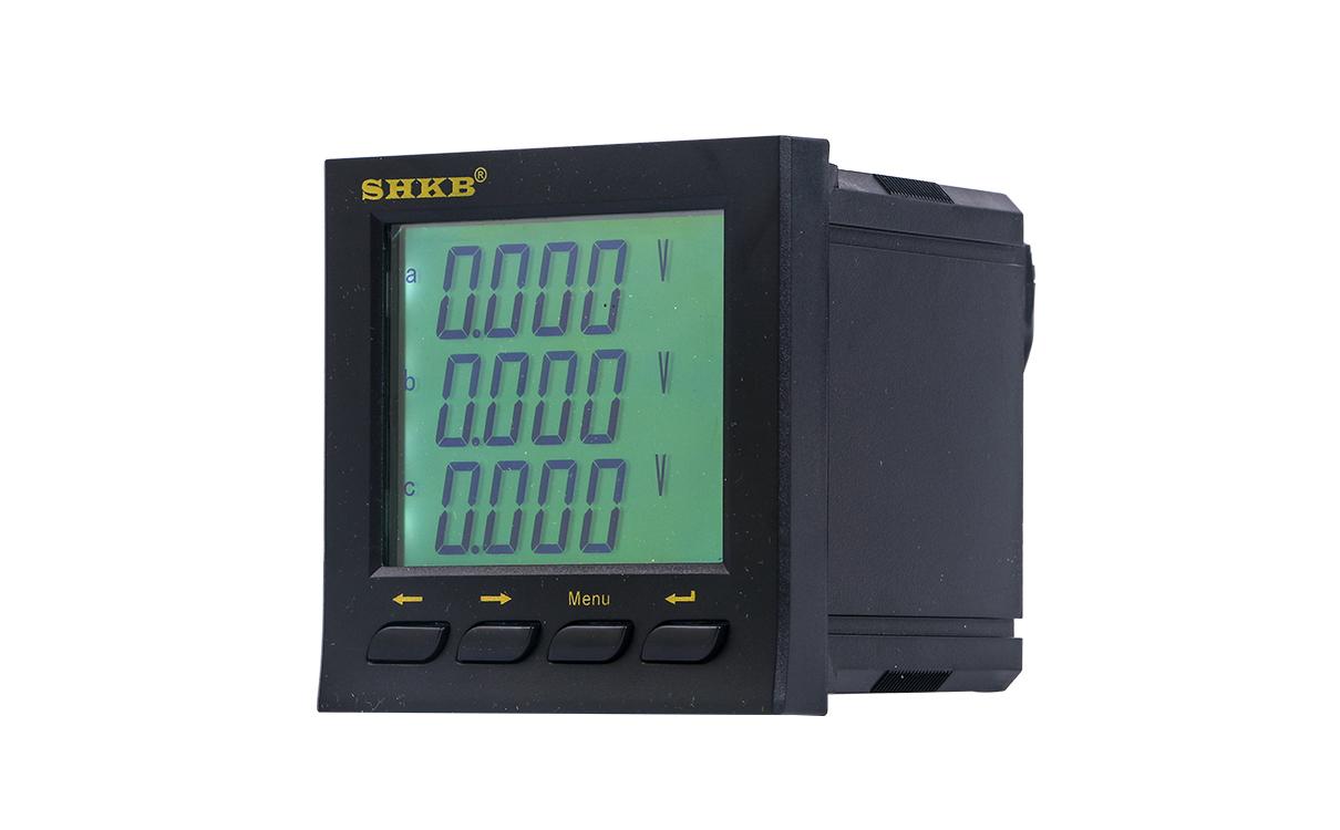 多功能电力仪表应用解析 第1张 多功能电力仪表应用解析 电子电气知识